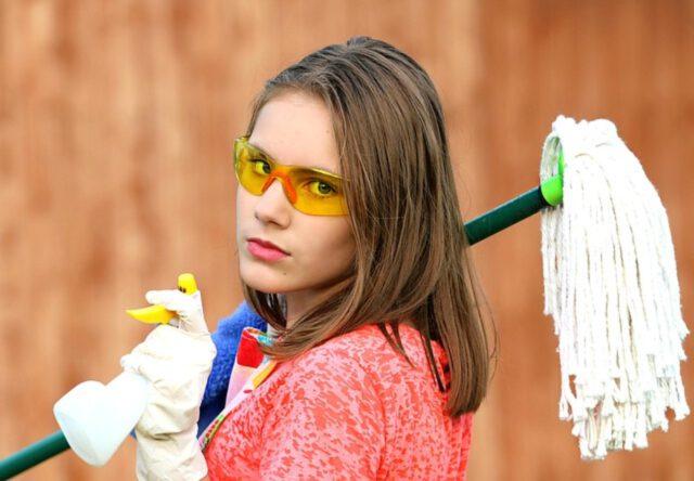 ekologiczne produkty do sprzątania domu